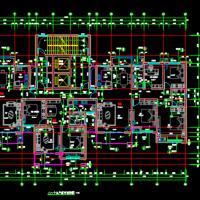一类高层一梯三户高层住宅楼户型图(2019最新)