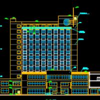 某十三层宾馆建筑施工图