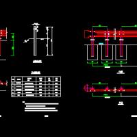 护栏横断面设计图