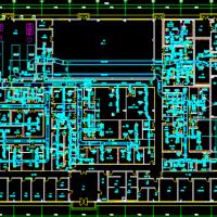 某制药厂洁净空调厂房暖通设计施工图全套
