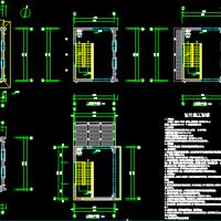 某消防训练塔给排水设计施工图