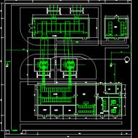 通用35kV变电站平面布置图