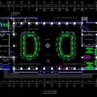 某市行政服务中心装修工程竣工图