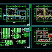 某餐厅厨房配电系统图