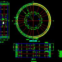 某地地铁区间盾构管片通用设计CAD图纸