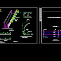 监狱围墙电网设计图纸