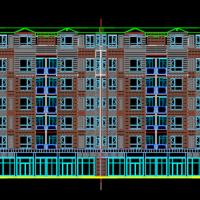 4786平米六层框架住宅楼毕业设计(计算书、施组、建筑、结构图)