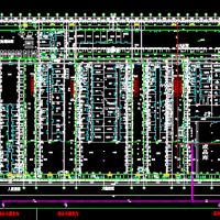 河北某制药厂洁净空调设计CAD图