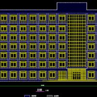 5897平方米七层框架结构办公楼毕业设计(带计算书)