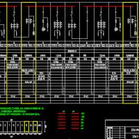 35KV配电平面布置及系统设计全套图纸