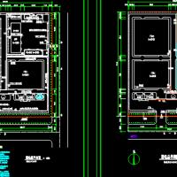 某工业厂区总平面电气图