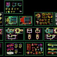 厂房设备基础及平台结构施工图