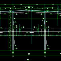 浙江两层钢结构厂房结构设计图