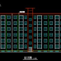 山西某六层砖混结构住宅楼建结水电暖全套(附工程预算书)
