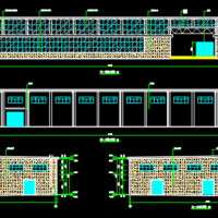 某4993平米化工厂房建筑设计施工图