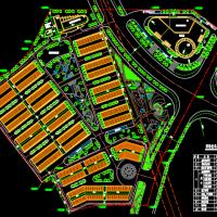 农机汽车市场规划设计总平面图