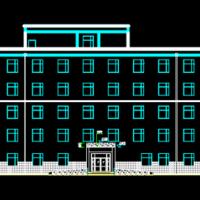 5535平米五层砖混结构老年公寓毕业设计