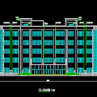 行政办公楼建筑与结构全套毕业设计图(5000平带计算书)