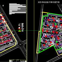 某住宅小区室外弱电管网设计方案图纸