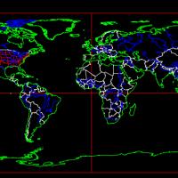 世界地图CAD版本