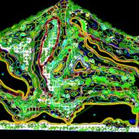双山高尔夫球场施工图