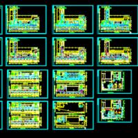 某医院暖通空调设计全套施工图