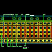 大庆6000平米5层框架宿舍楼毕业设计(含施组、图纸及说明)