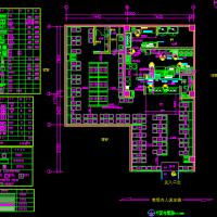 安徽老乡鸡餐饮建筑室内装修设计施工图
