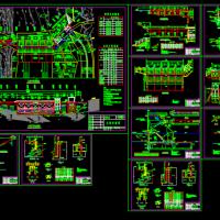某水电站大坝结构设计CAD图纸