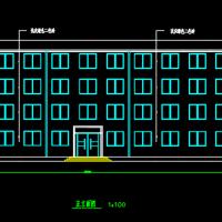 中学四层框架结构学生宿舍楼毕业设计(实习报告 计算书 翻译 任务书 )