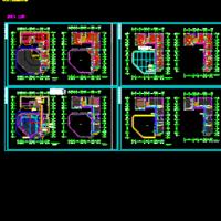 某中学音乐报告厅电气及火灾报警系统设计图