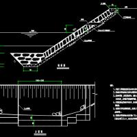 浆砌块石护坡CAD设计图