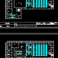 服装厂生产车间平面布置图