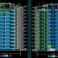 7485平米11层小高层剪力墙住宅楼毕业设计(含计算书)