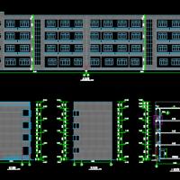 四层办公楼工程造价毕业设计(图纸 投标书 招标书 任务书 工程量清单)