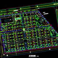 建材市场规划设计CAD平面图