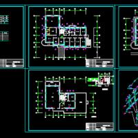 三层综合办公楼采暖设计CAD图纸
