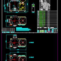 生物质燃烧机总装CAD图