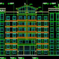 疾病预防控制中心医院实验楼建筑设计图纸