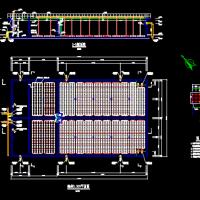 某城区污水处理厂A2O工艺平面布置图