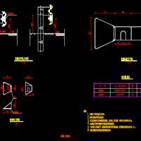 波形护栏轮廓标及路侧示警桩设计图