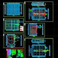 某物流中心冷库电气设计施工图