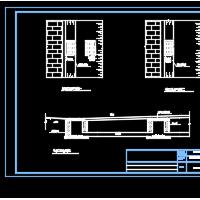 某医院路面检查井白改黑改造设计详图