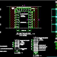 某框剪结构酒店电梯井及局部房间改造加固图
