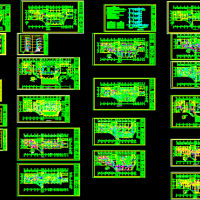 高层宾馆电气设计施工图
