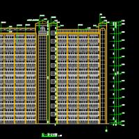 7940平米11层剪力墙结构公寓楼毕业设计(施组 施工总平面图 进度图)