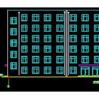 6597平米六层框架结构办公楼毕业设计(带计算书)