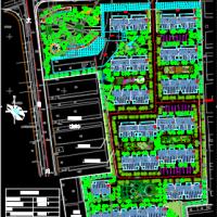 某住宅小区平面图(六合区灵岩雅苑总平面规划图)