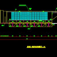 水厂沉淀池扩建工程侧向流式沉淀池一体化净化设备图纸