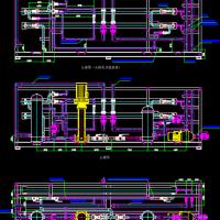 反渗透RO设备装配设计图纸(3吨每小时)